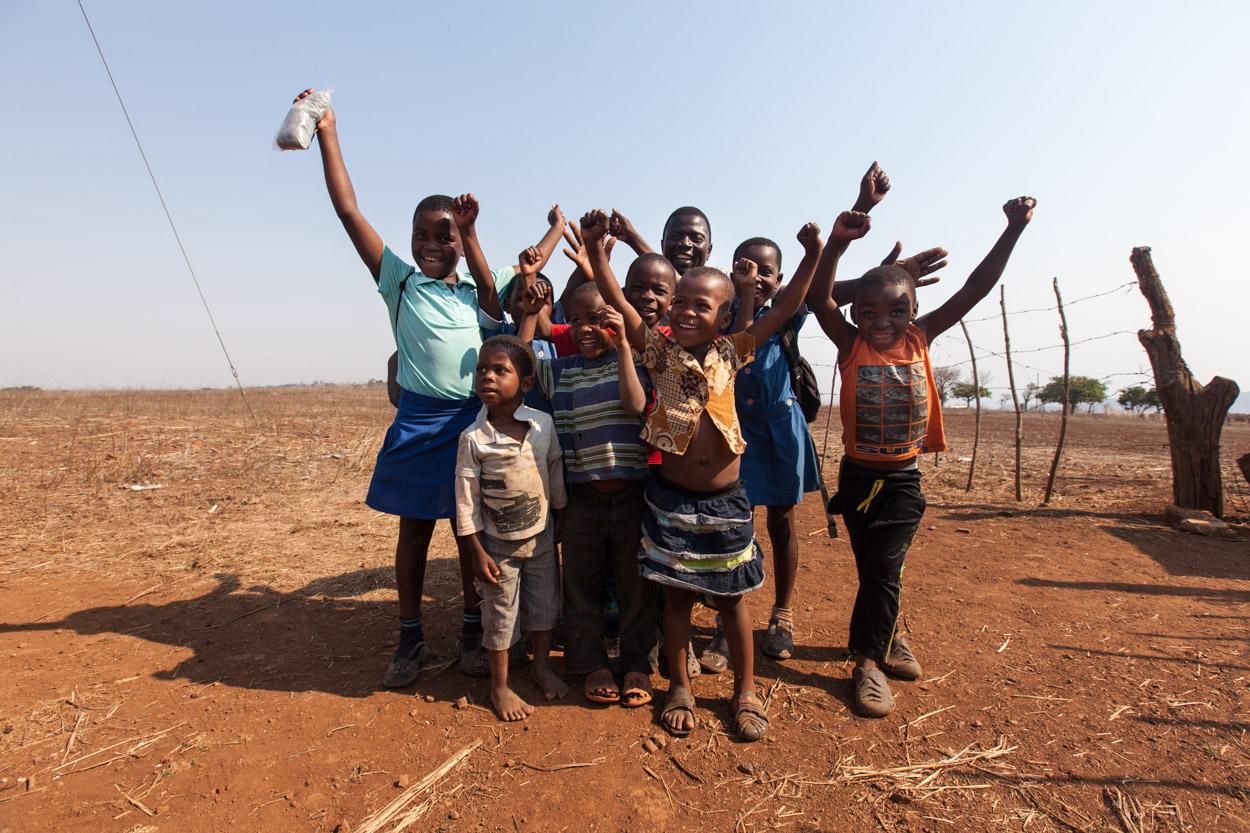 Kinderen in Shewula, Swaziland