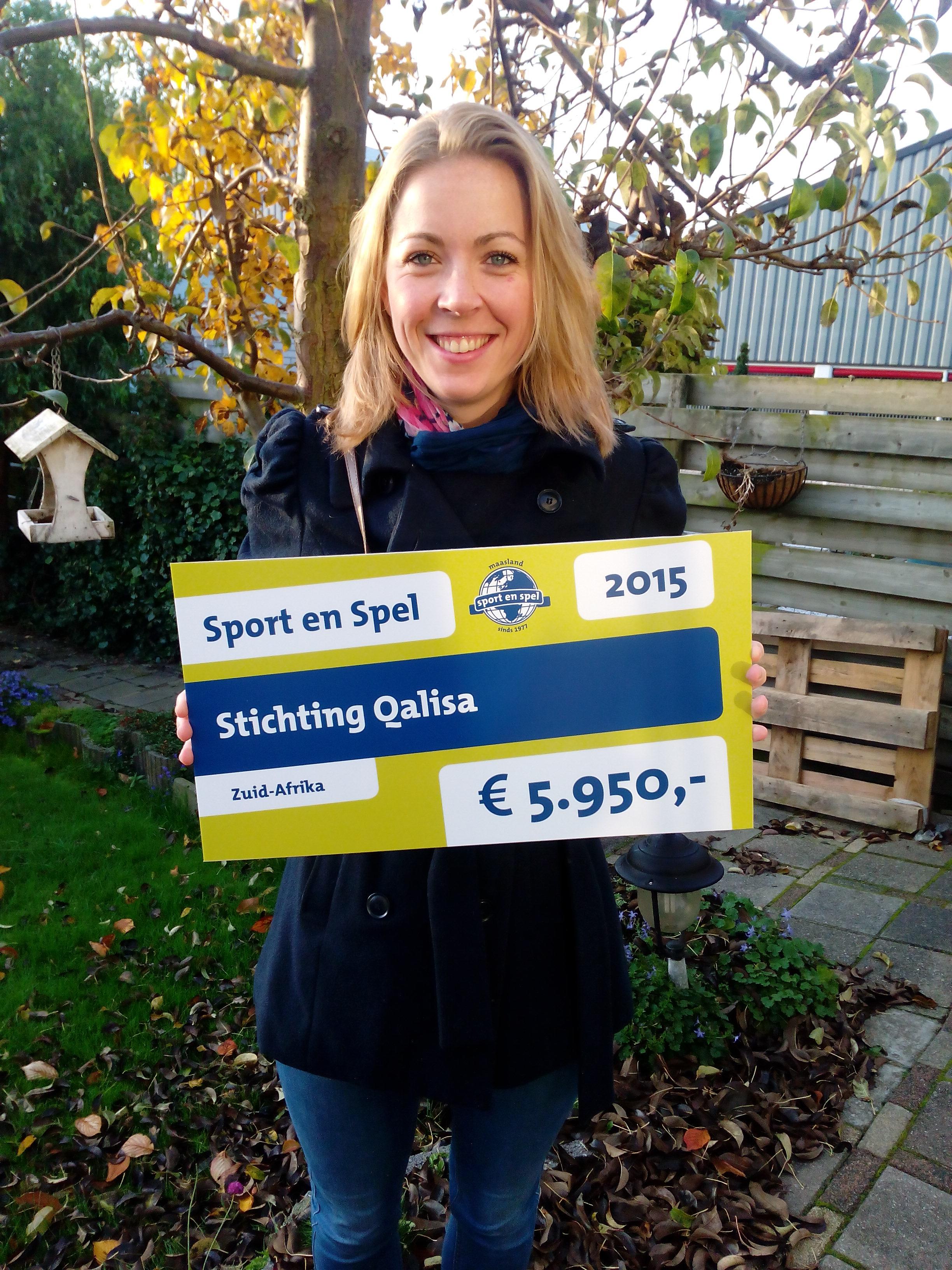 Cheque van Sport en Spel